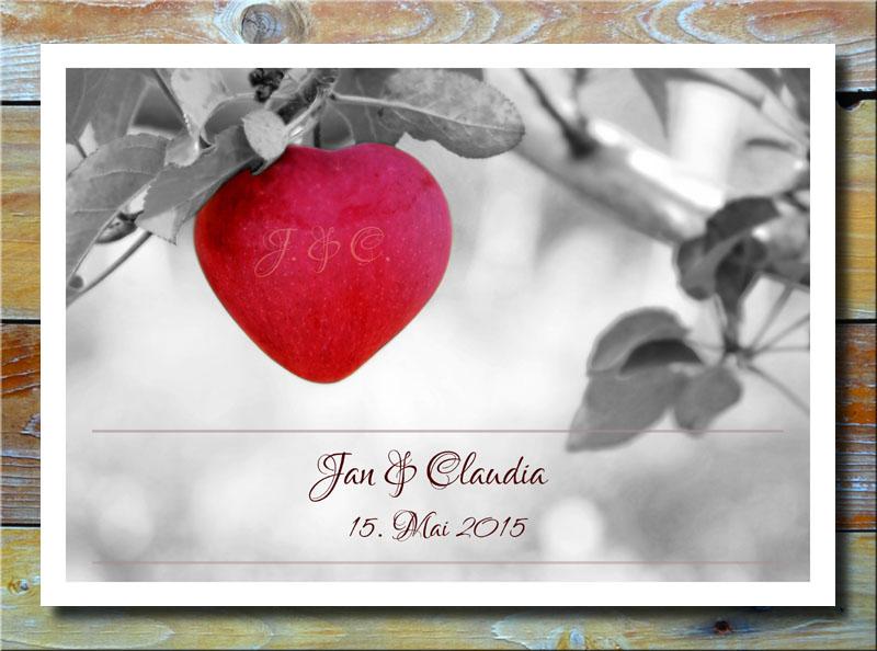 Apfel der Liebe