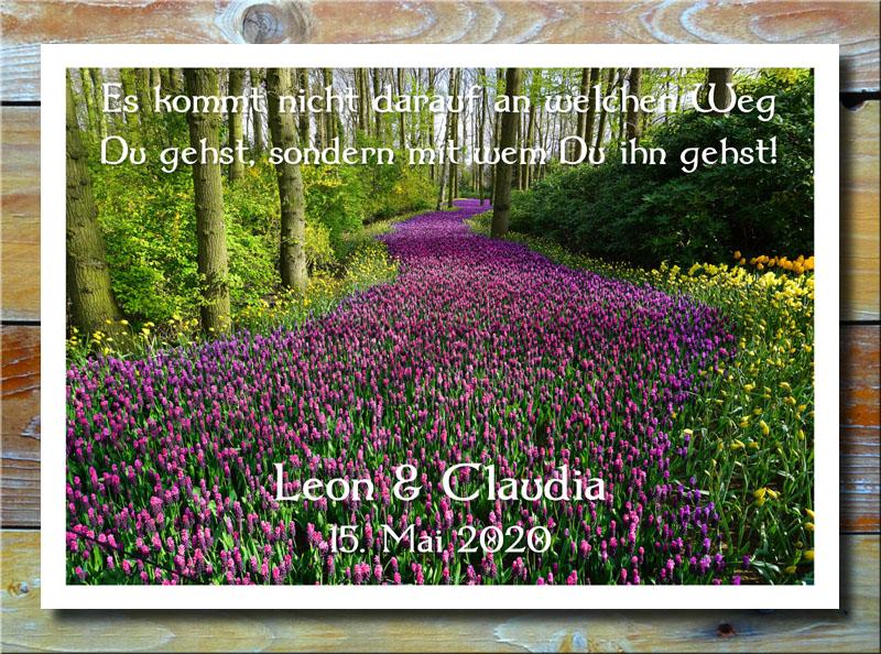 Blumenweg der Liebe