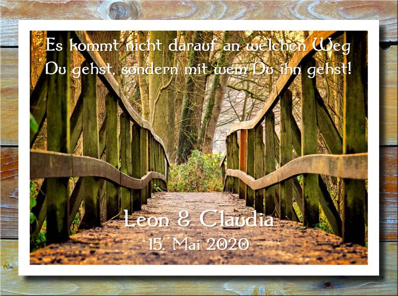 Brückenweg der Liebe