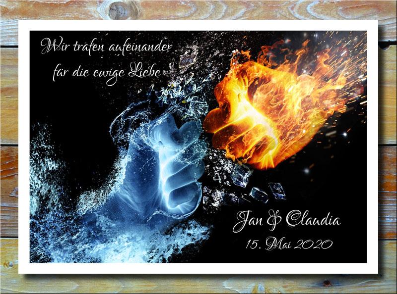 Fäuste aus Feuer und Eis