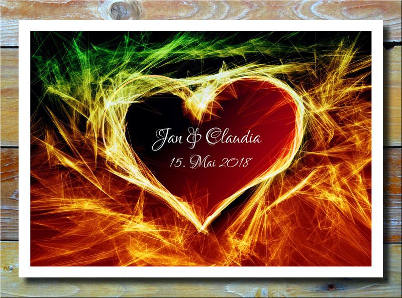 Feuerwerk des Herzens