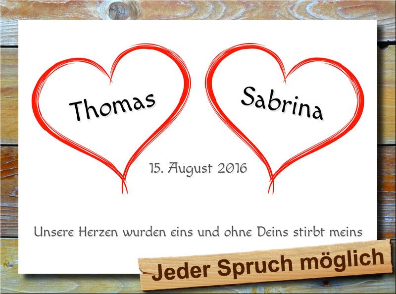 Unsere Herzen der Liebe